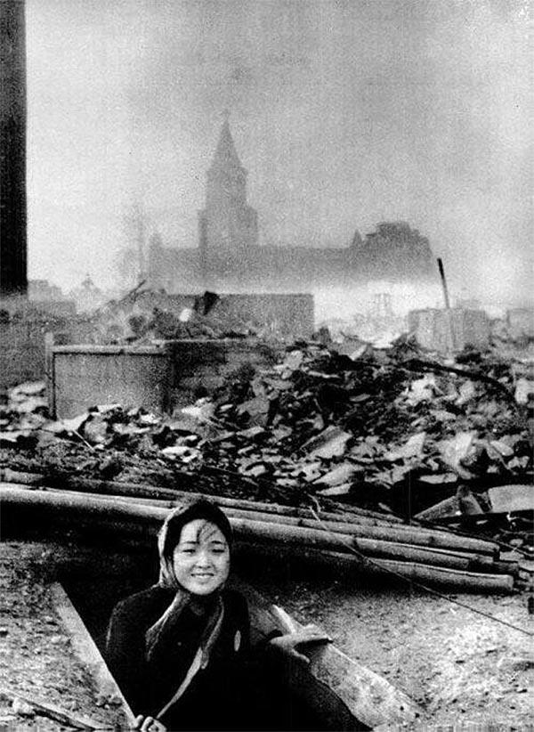 長崎爆撃の生存者