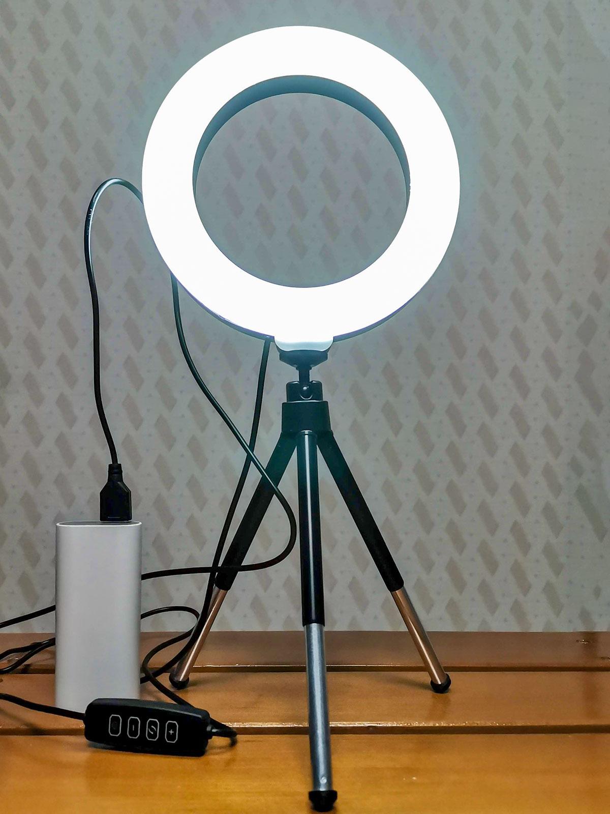 「LEDリングライト30」白色