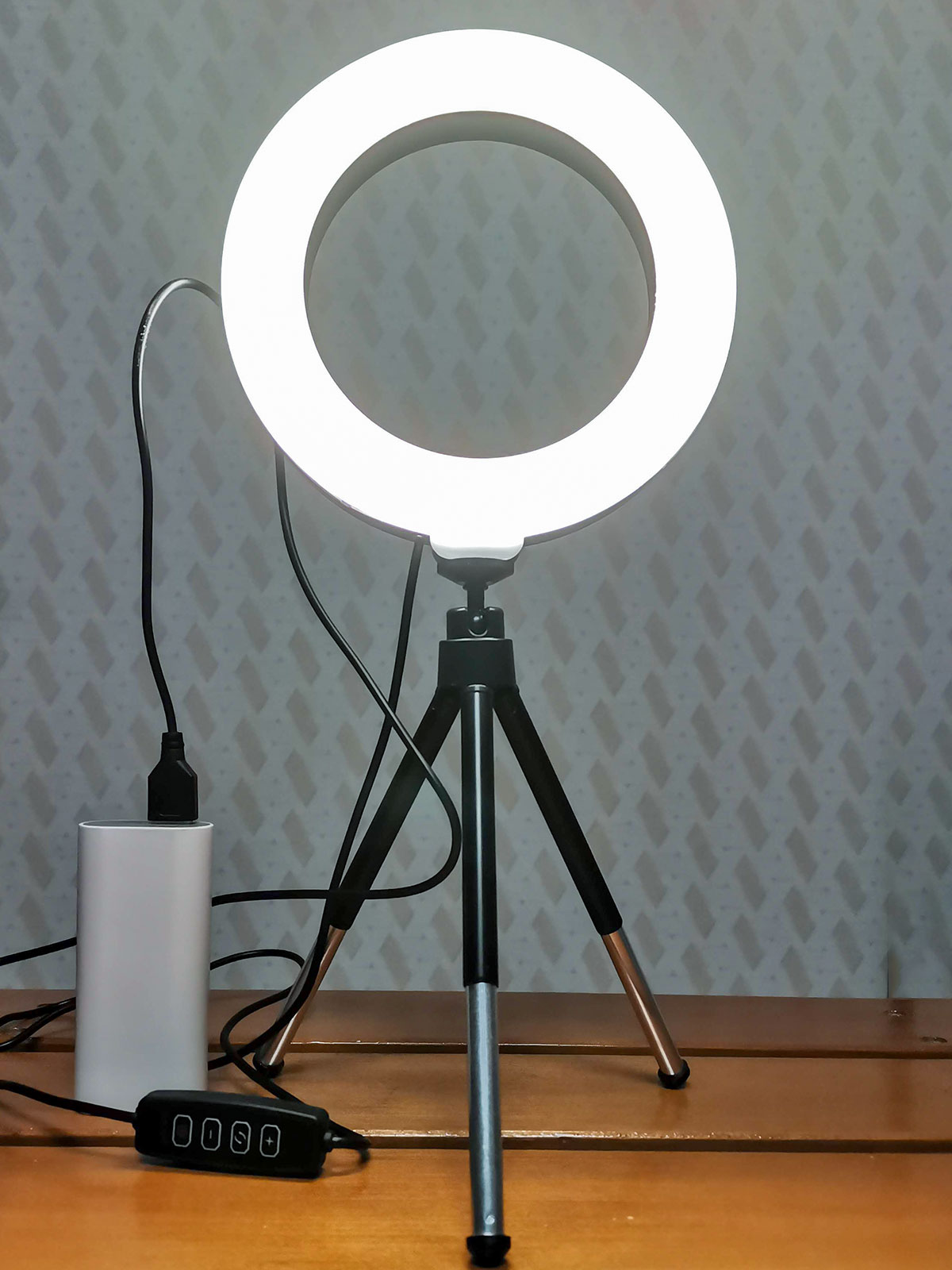 「LEDリングライト30」昼光色