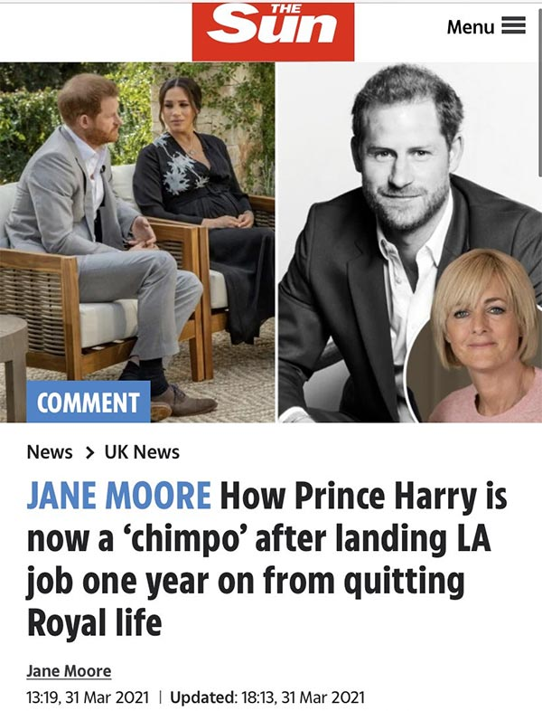 How Prince Harry is now a chimpo after landing LA job one year on from quitting Royal life