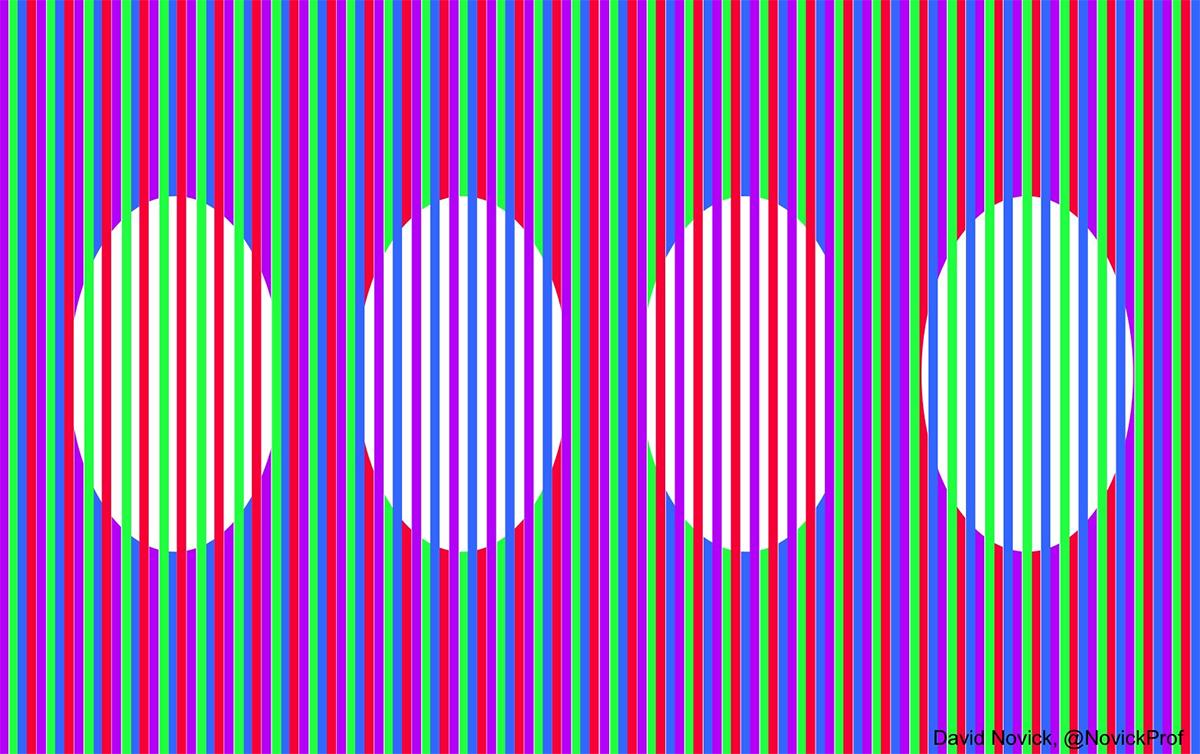 ムンカー錯視の例