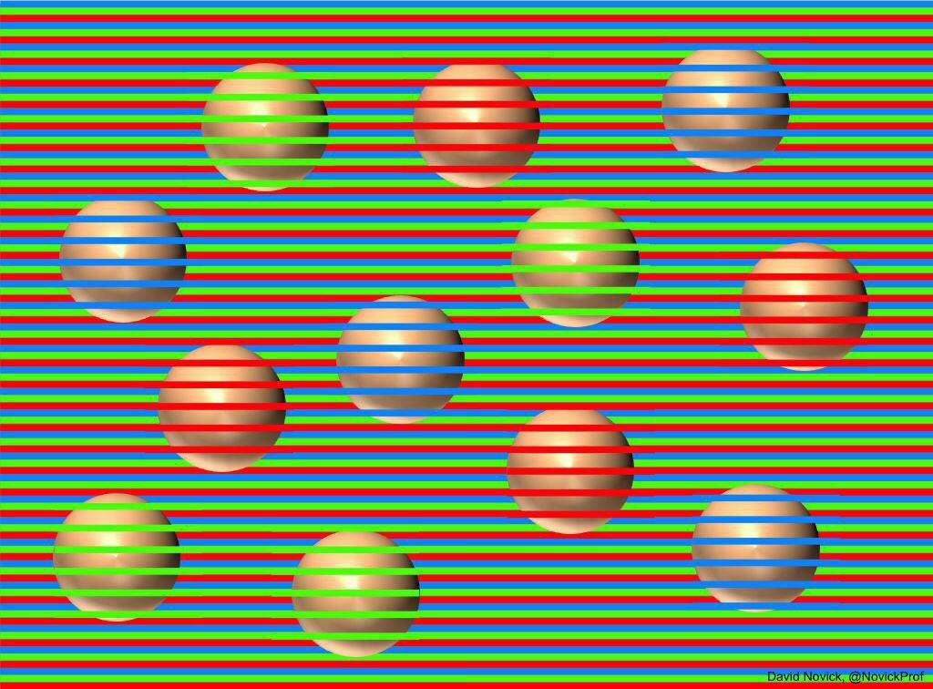 これ全部同じ色やで、ズームしてみて