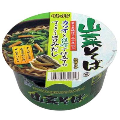 イトメンの山菜そば