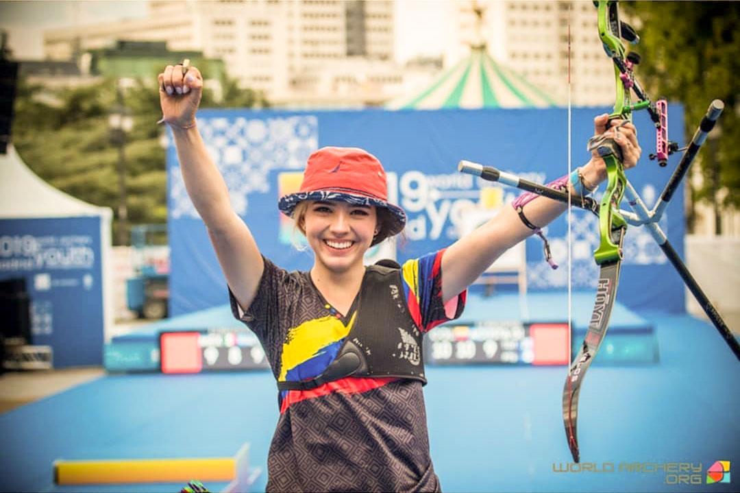 アーチェリー コロンビア代表のバレンティーナ選手
