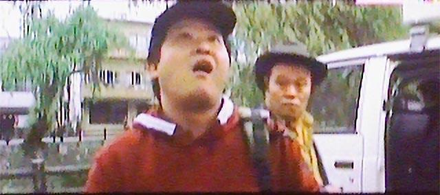 『虹をつかむ男』での上島竜兵