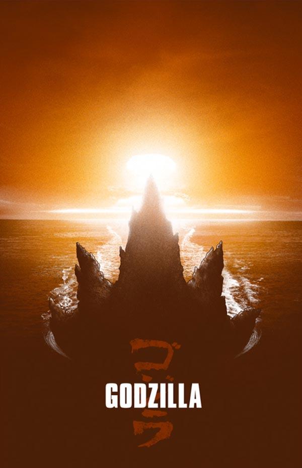 ゴジラのポスター