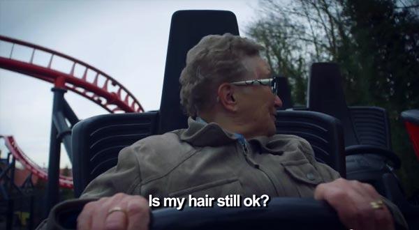 Nan on a roller coaster