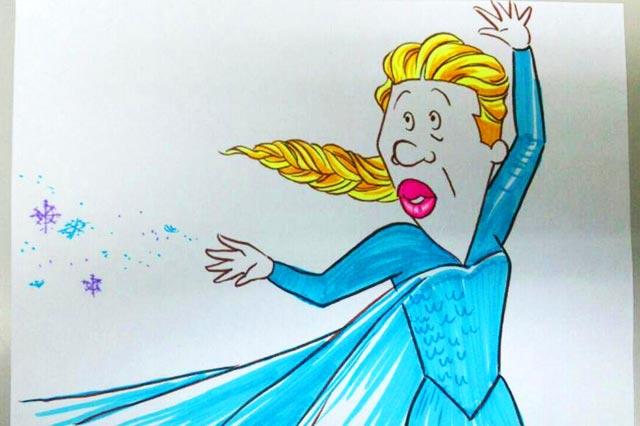 アナゴ雪の女王