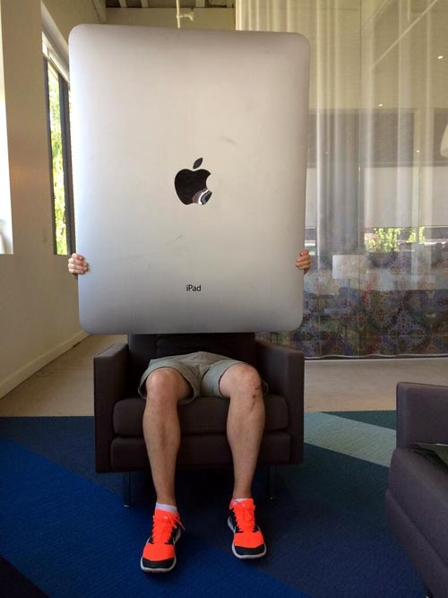 次期iPadのプロトタイプ