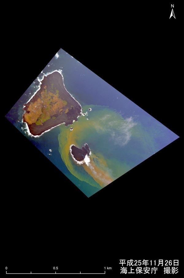 小笠原・西之島