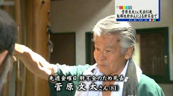 菅原文太さん死去