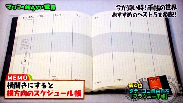 手帳評論家・舘神龍彦氏オススメの手帳143246