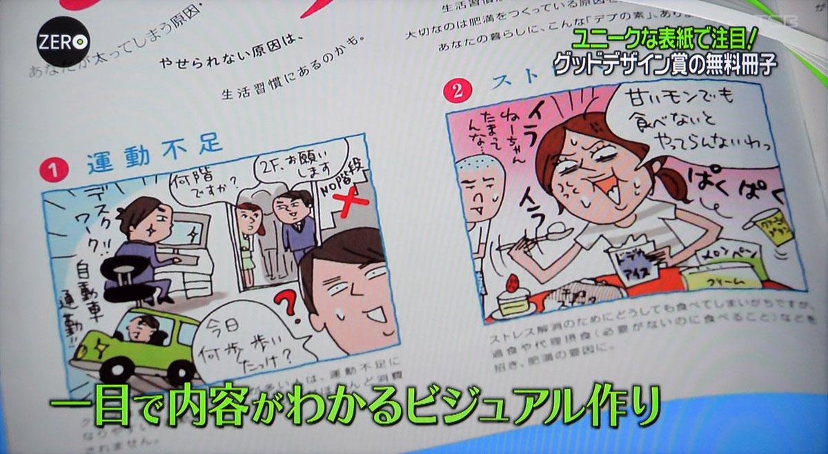 アイセイ薬局発行フリーペーパー「ヘルス・グラフィックマガジン」グッドデザイン賞