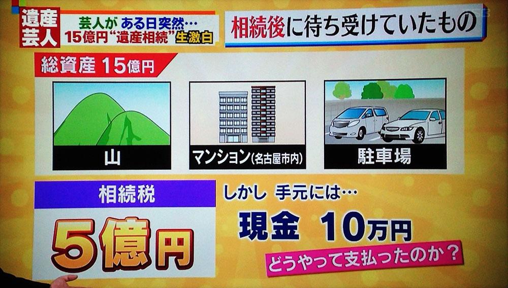15億円相続芸人・前田けゑの話