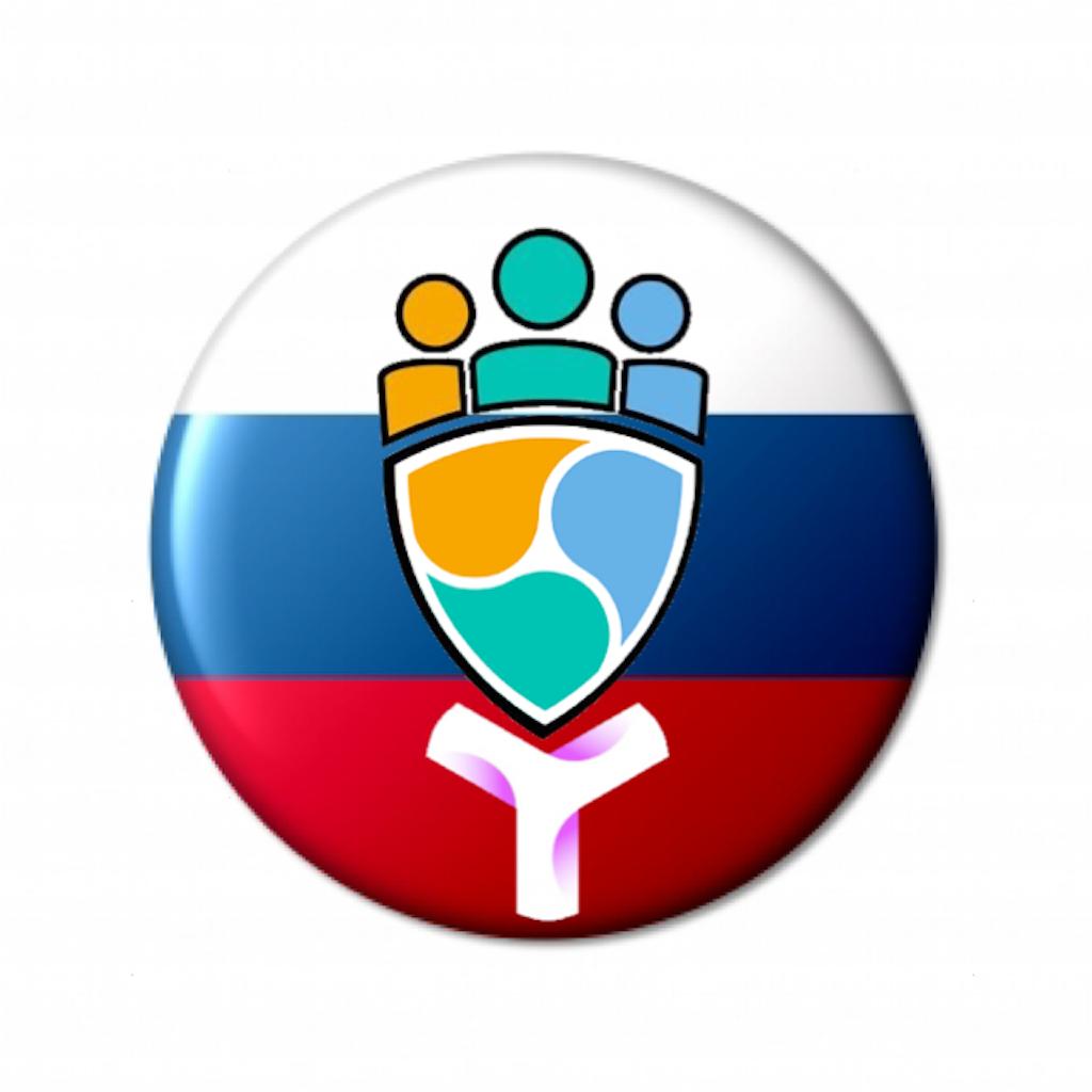 NEMHUBロシア のロゴを作成しました