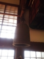 鐘が吊る下がってた