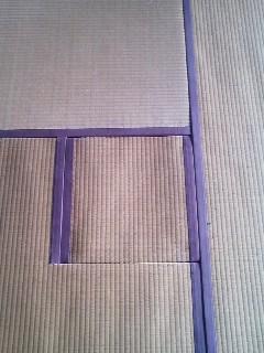 お茶室の小畳