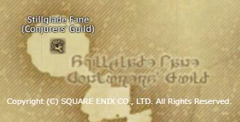 FF14 英語設定で幻術士ギルド