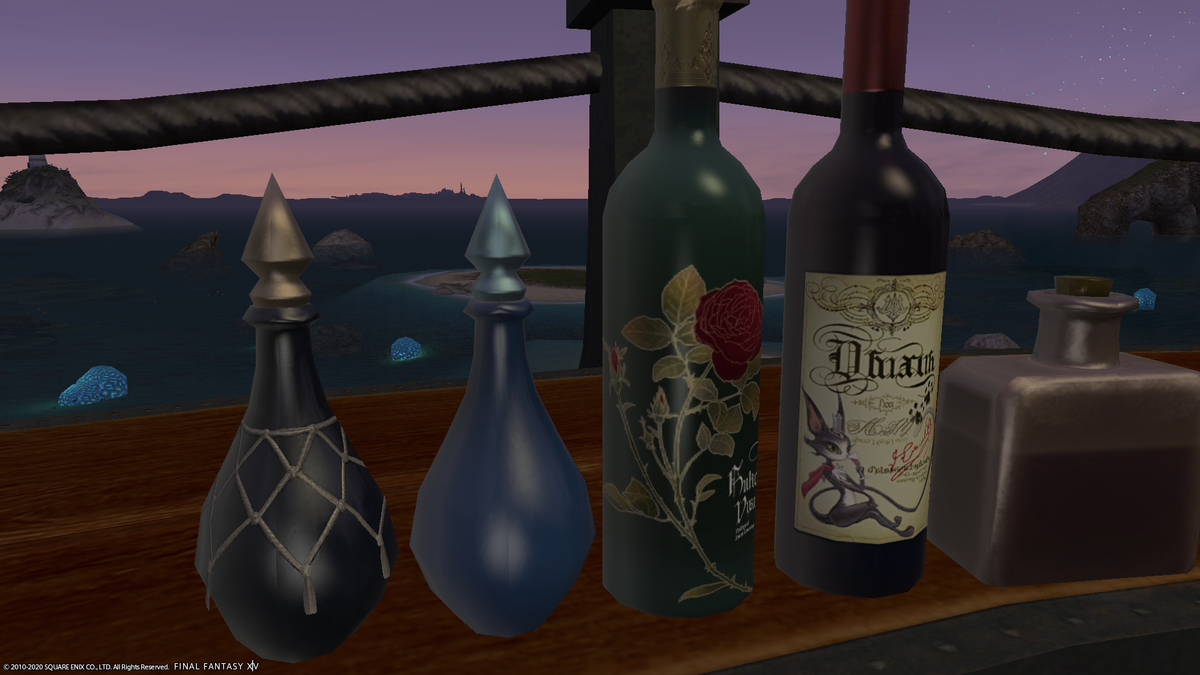 「薔薇とワイン」