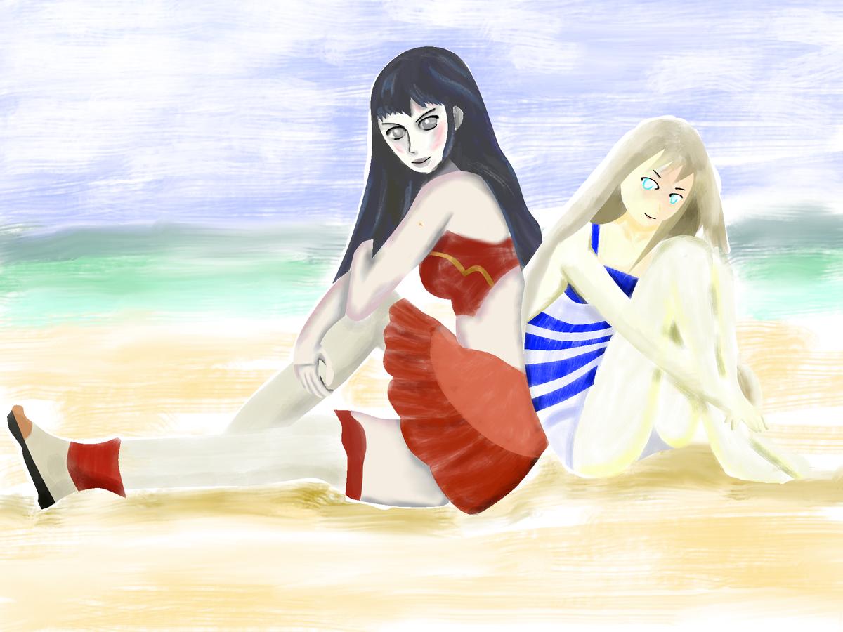 人は1日30分の練習で絵を描けるようになれるか:海の日編:11日目