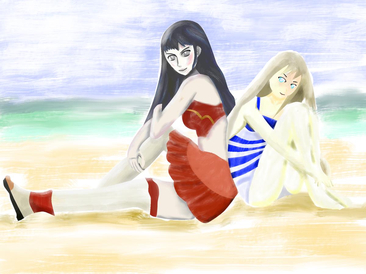 人は1日30分の練習で絵を描けるようになれるか:海の日編:12日目