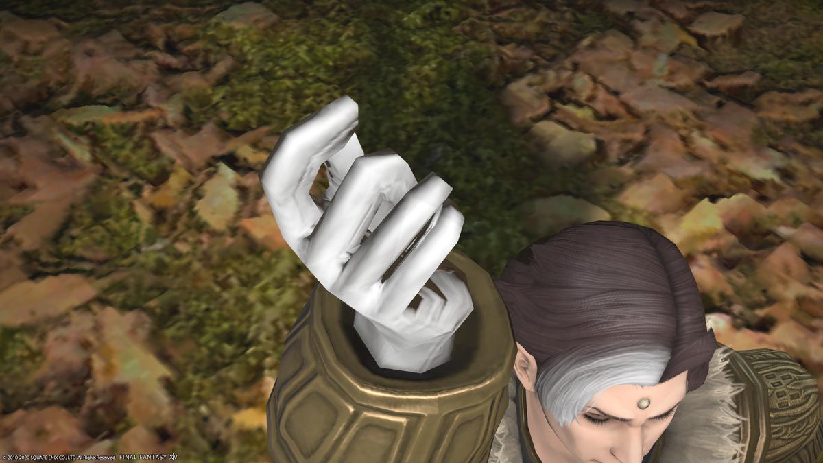 FF14 エメトセルクの指パッチン