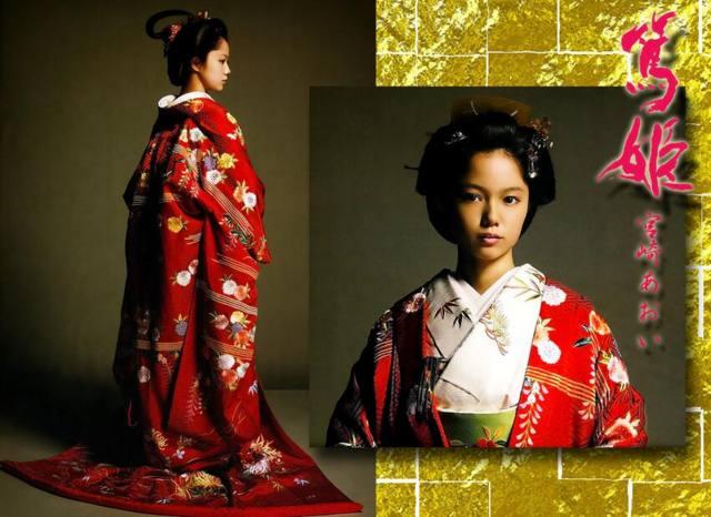 篤姫の宣伝ポスター