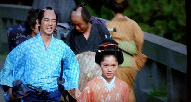 引き続き篤姫(宮崎あおい)と小松帯刀(瑛太)その2