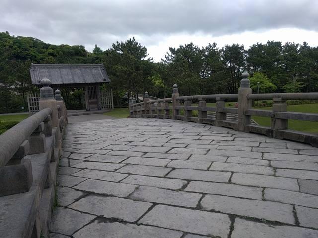 2018年(平成30年)大河ドラマ「西郷どん」(せごどん)で撮影スポットとなるであろう西田橋