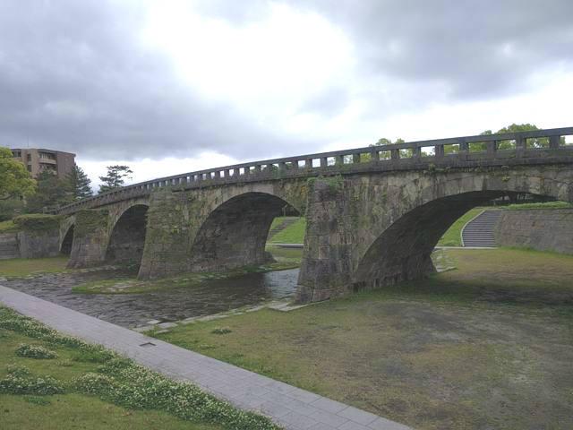 西郷どんで撮影場所となる石橋記念公園の高麗橋その2