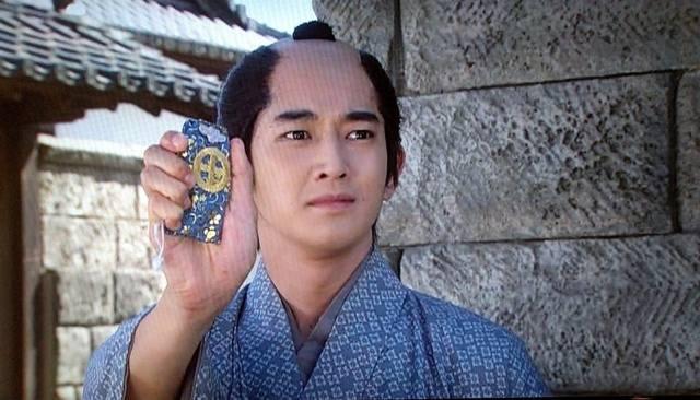 篤姫(宮崎あおい)と小松帯刀(瑛太)