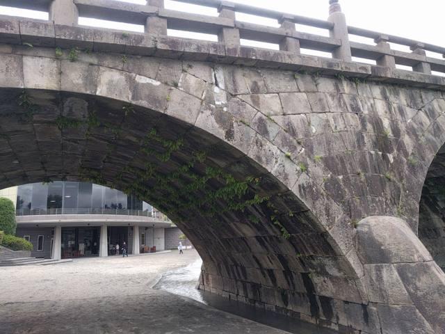 2008年大河ドラマ『篤姫』にもでてきた西田橋