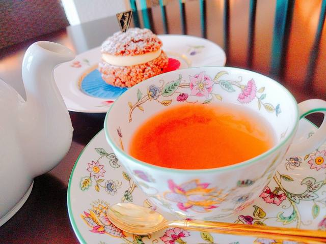 スプリングダージリンの紅茶