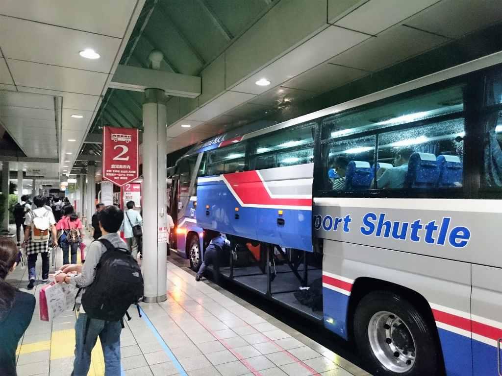 鹿児島中央駅ー鹿児島空港のバス乗り場について分かりやすく ...