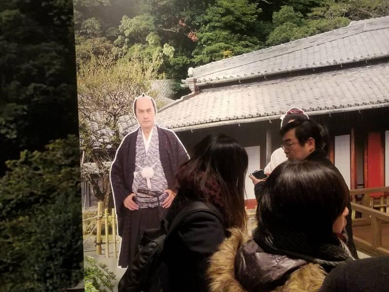 島津斉彬公のパネルは大人気