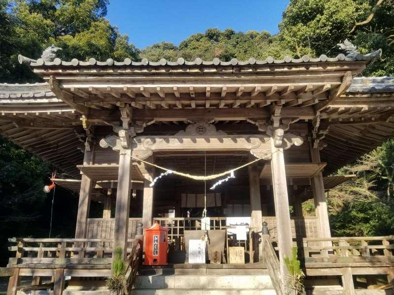 精矛神社・社殿(鹿児島県姶良市)