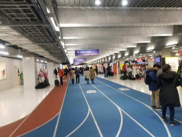 成田空港第3ターミナルロビー