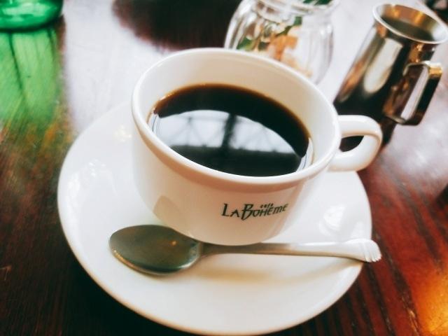 コーヒー 〔カフェ ラ・ボエム〕