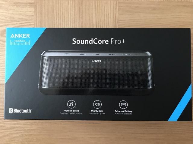 「SoundCore Pro+」は黒と青