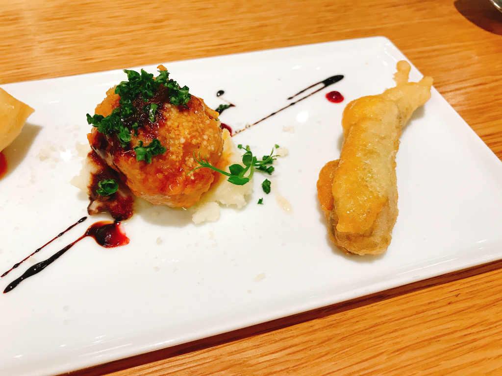 天ぷらも揚げたてを