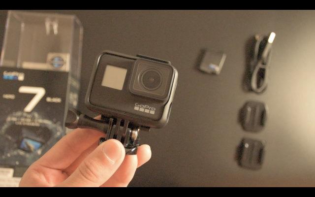 GoPro HERO7 には専用保護フレームが付属しているのなぜ購入したのか?