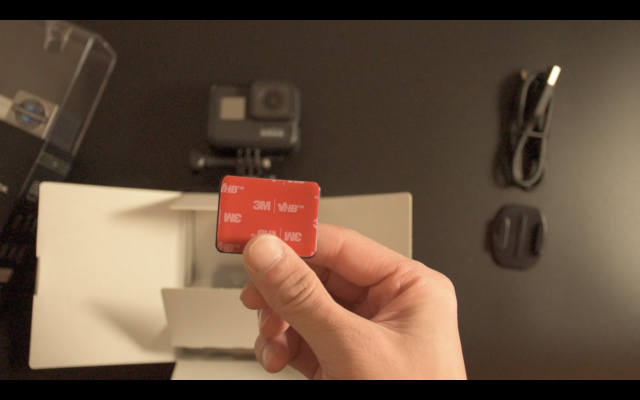 3M(スリーエム)の接着テープで強力に固定