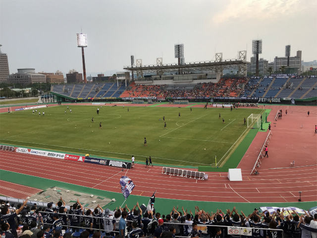 「鹿児島ユナイテッドFC」のホームゲームを白波スタジアムに見に行こう