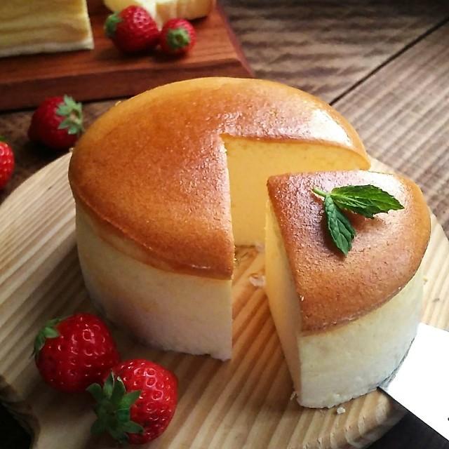gemomogeのスフレチーズケーキ5