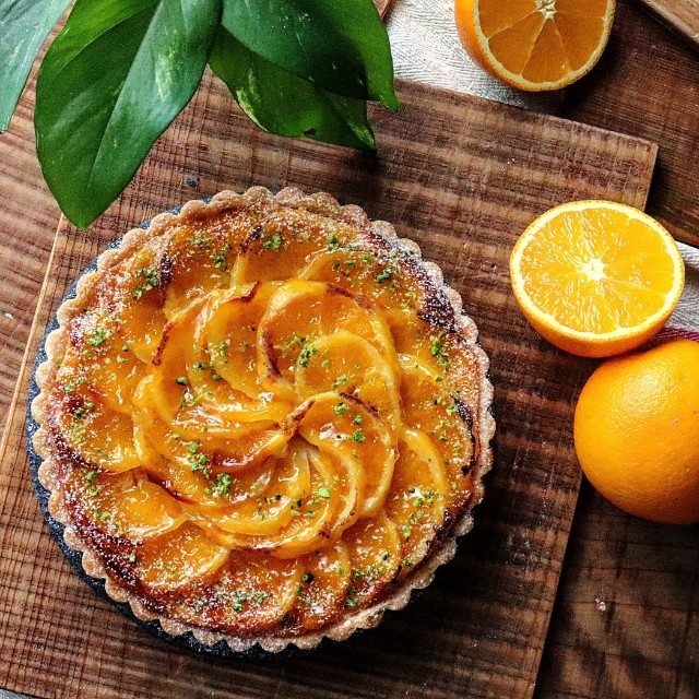 gemomogeのオレンジタルト2