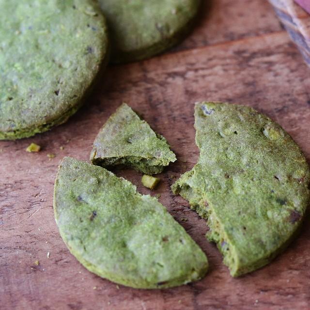 gemomogeの抹茶と甘納豆のクッキー2
