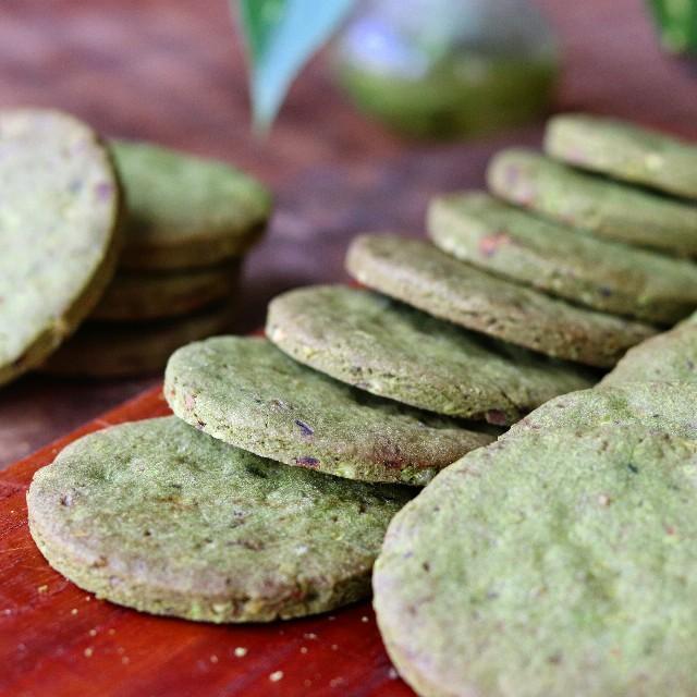 gemomogeの抹茶と甘納豆のクッキー4