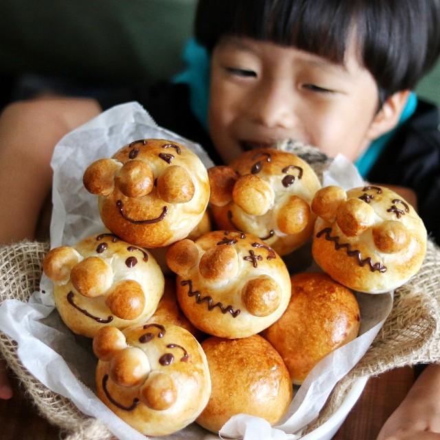 gemomogeの丸パン2