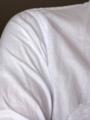 20120701ユニクロシルキードライの肌色の透けにくさ