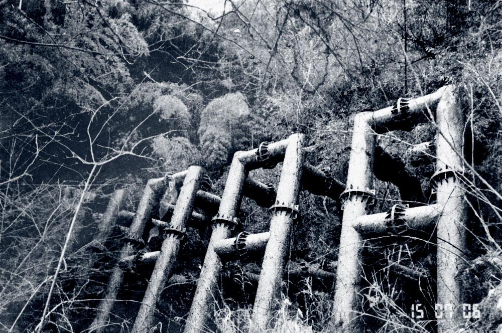 松江百景 - 澄水山のスリットダムB型 -